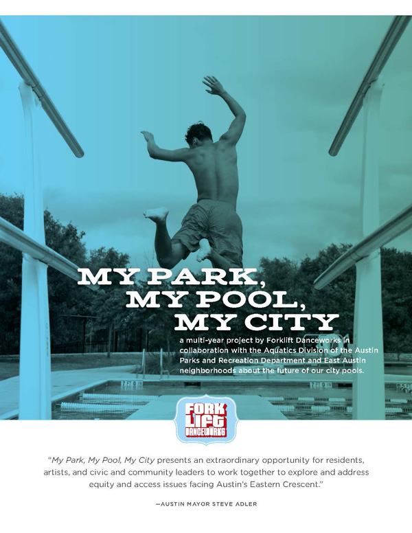 My Park My Pool My City Sponsor Deck