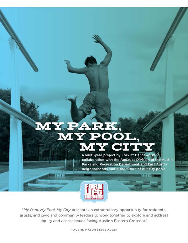 My Park My Pool My City Sponsor Deck